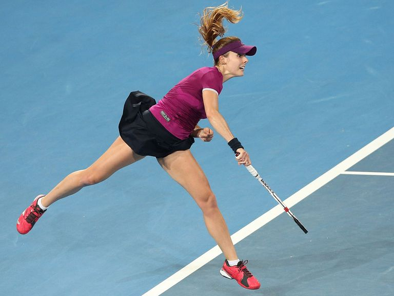 Alize Cornet: Three-set victory