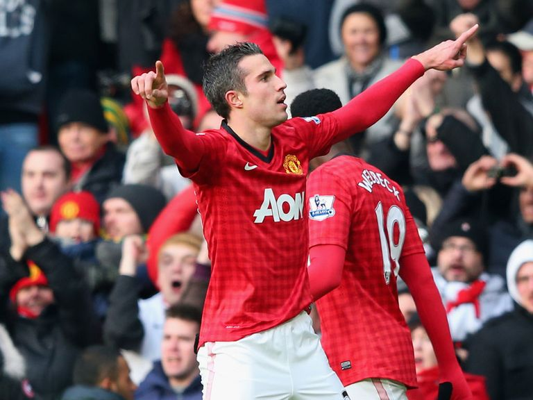 Robin van Persie: Impressed with Welbeck