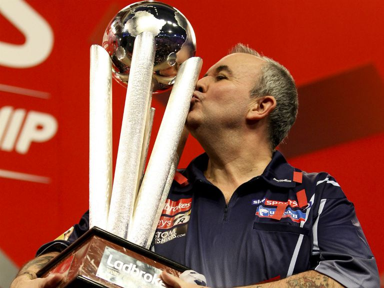 Phil Taylor is 11/4 to win next year's PDC title