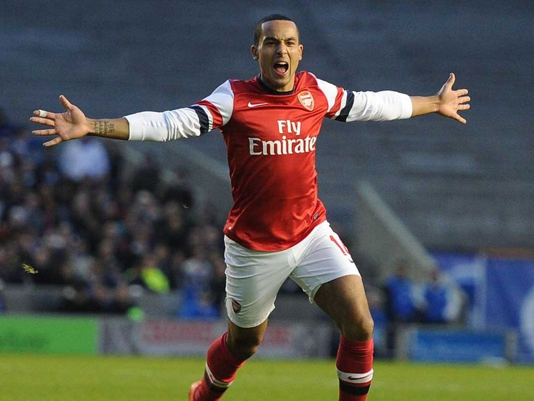 Theo Walcott: Wants to pay back Wenger