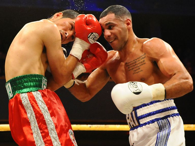 Kal Yafai did not have things all his own way against Garcia (leighdawneyphotography.com)
