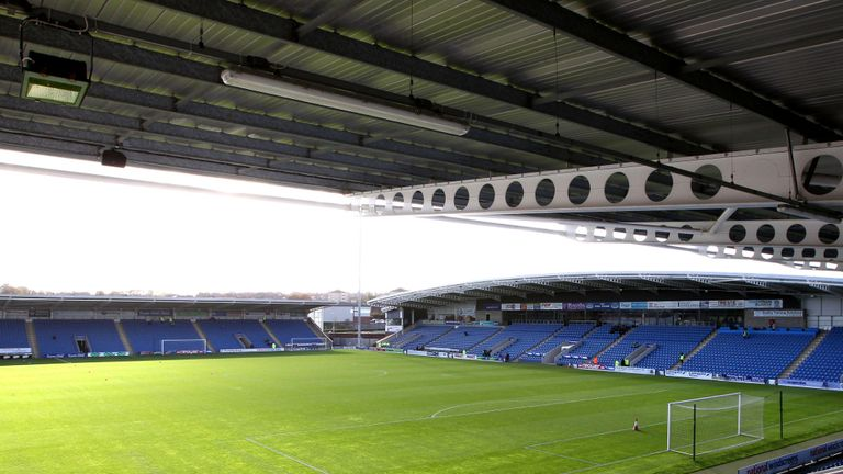 Proact Stadium: Welcomed some new faces