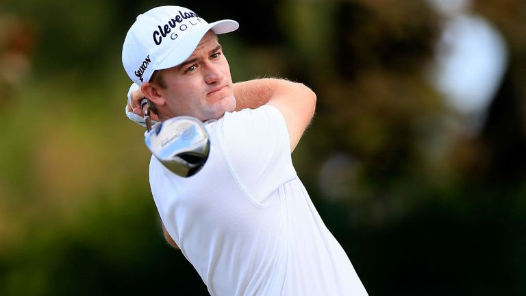 Russell Knox: Scotsman is inn a share of the lead in California