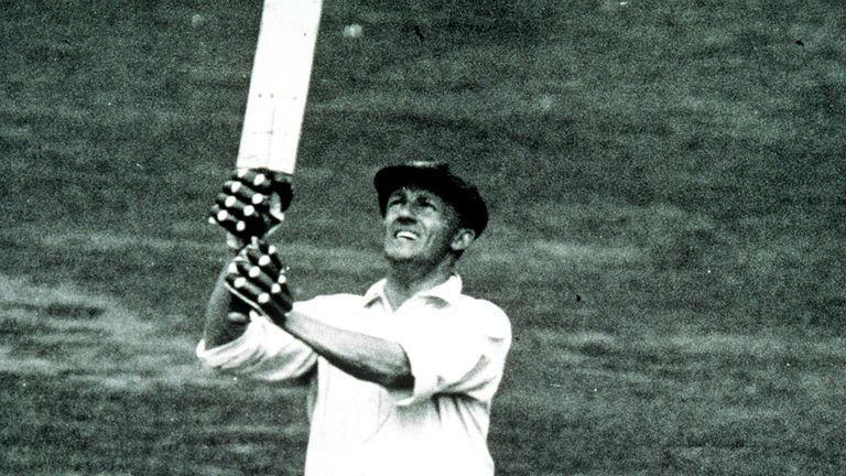 Don Bradman dominated Ashes series over many years