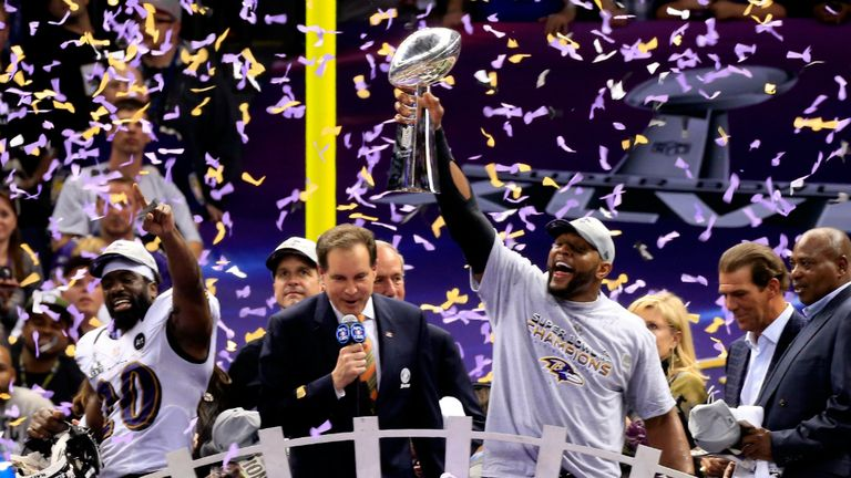 "Ray Lewis: ""We overcame all the odds."""