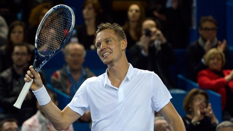 Tomas Berdych: Through to the final in straight sets