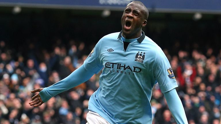 Yaya Toure: Manchester City remain relaxed about midfielder's contract situation