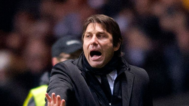 Antonio Conte: Wins award for 2011-12 campaign