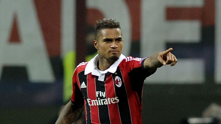 Kevin-Prince Boateng: Walked off in friendly following racial abuse