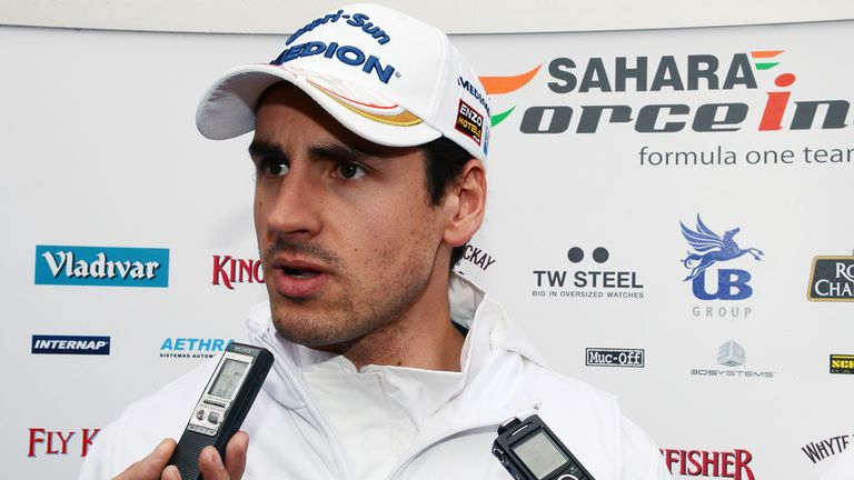 Adrian Sutil: Has yet to speak to former friend Lewis Hamilton