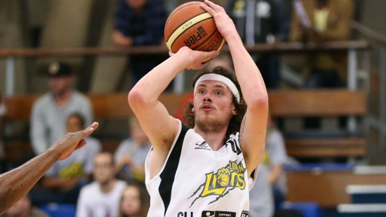 Adrien Sturt: Bagged 16 points for London Lions