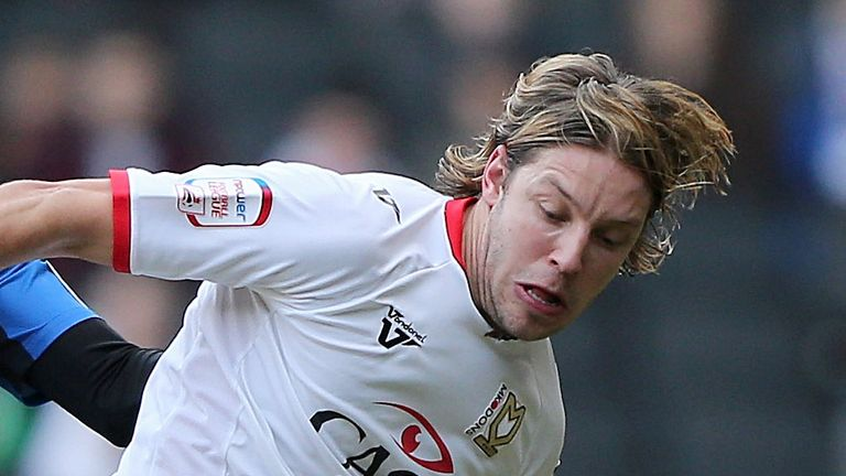 Alan Smith: Sent off after a clash with Rory Delap