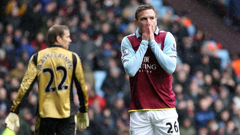Andreas Weimann: Aston Villa striker was left stunned by his second-minute gaffe