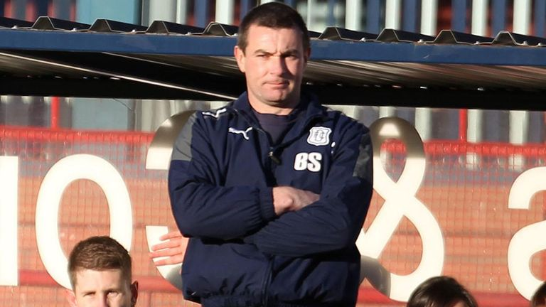 Barry Smith: Looking forward to next month's Dundee derby Cup quarter-final