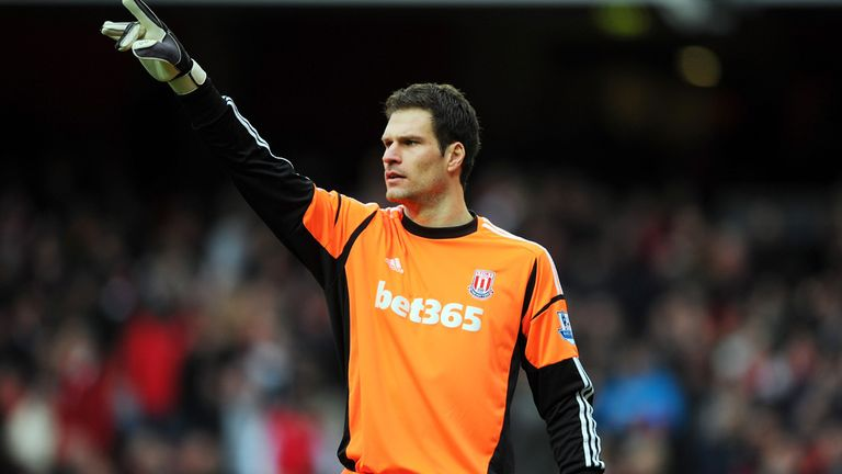 Asmir Begovic: Sees his immediate future at Stoke