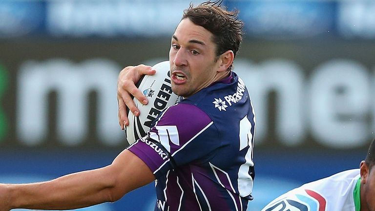 Billy Slater: Fit to take on the Rhinos in World Club Challenge at Headingley later this month