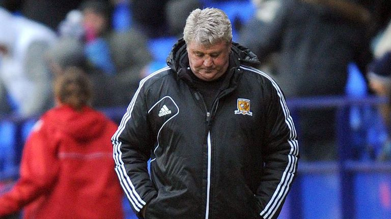 Steve Bruce: His side lost ground on leaders Cardiff