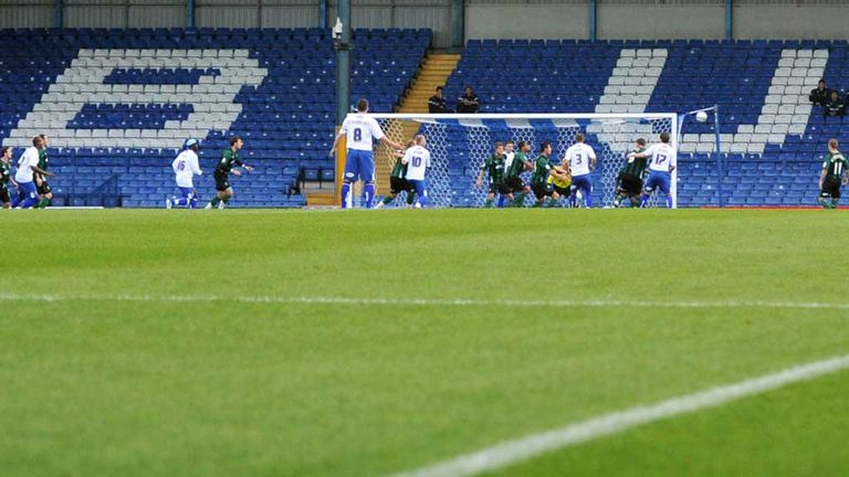 Gigg Lane: Off-pitch relief for Bury