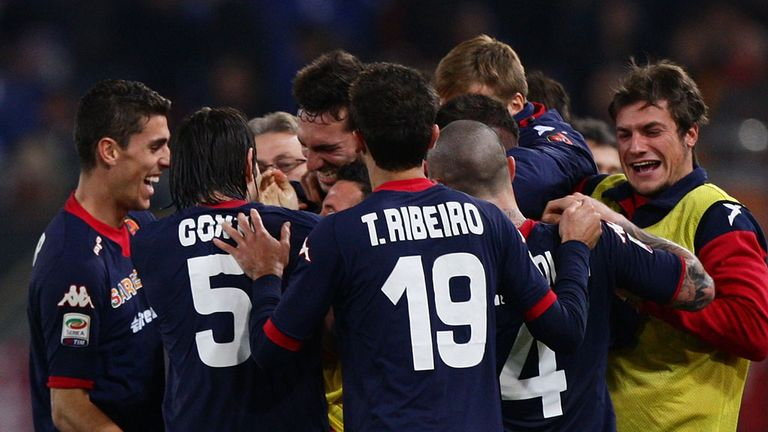 Cagliari: Cancelled contract at the Stadio Is Arenas