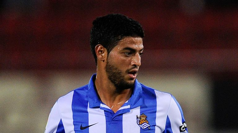 Carlos Vela: Wants to stay at Real Sociedad