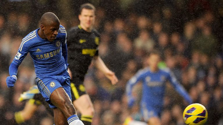 Ramires: On target for Chelsea