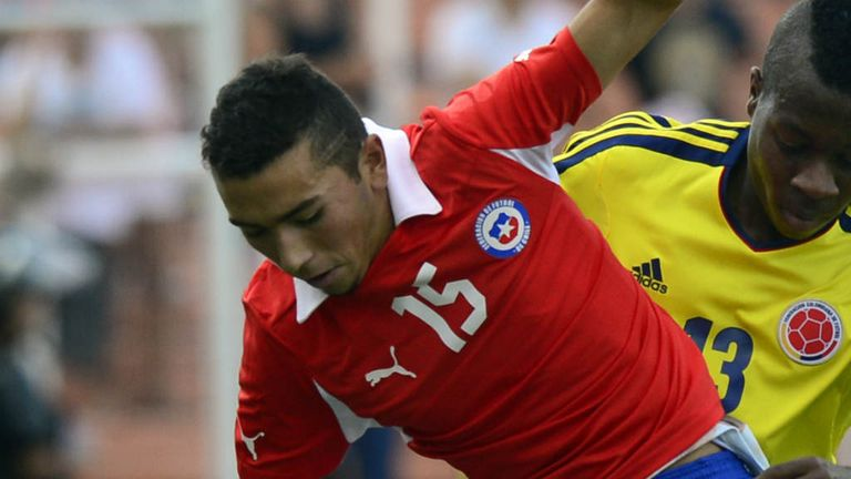 Cristian Cuevas: Could be set to make the move to Chelsea from O'Higgins