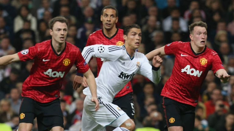 Phil Jones: Helped United to keep Ronaldo relatively quiet