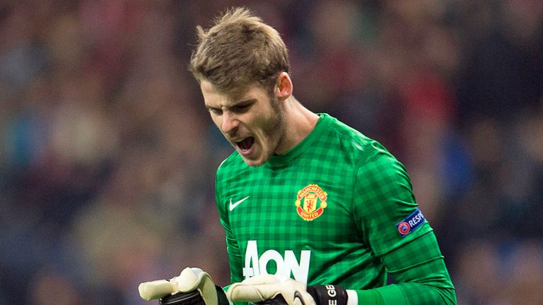 David de Gea: Shone on his return to Madrid with Manchester United