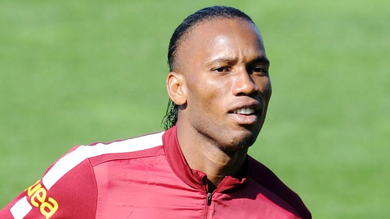 Didier Drogba: Scored on his debut