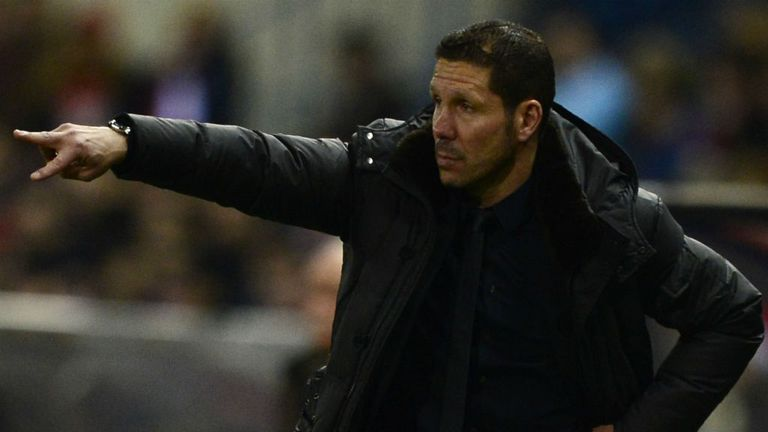 Diego Simeone: Wants to seal qualification for Europe early