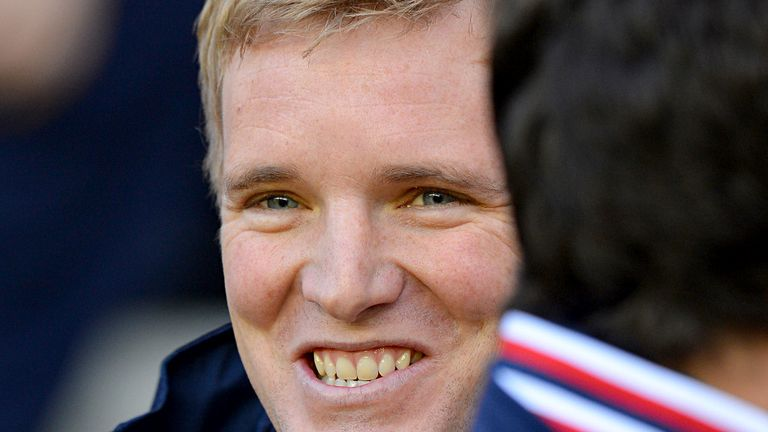 Eddie Howe: Happy with a confident team performance