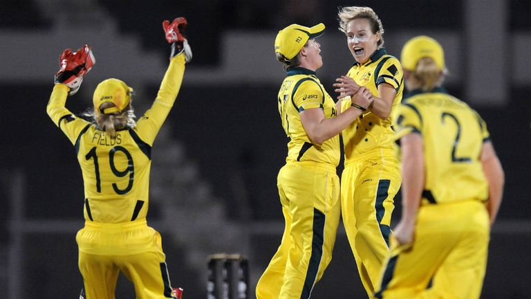 Australia: Celebrate sixth World Cup win