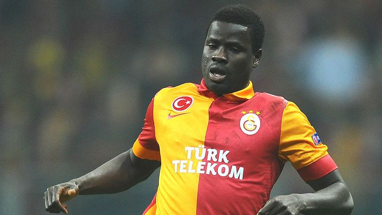 Emmanuel Eboue: Believes Turkish giants Galatasaray can overcome Schalke in second leg