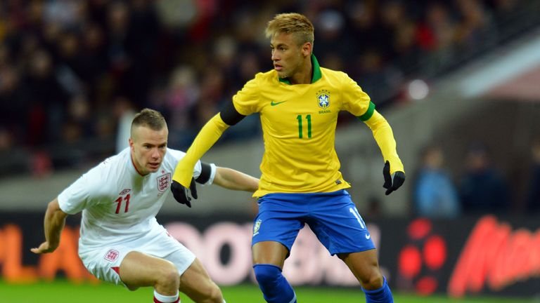 Neymar has a lot of pressure on his shoulders ahead of the 2014 World Cup