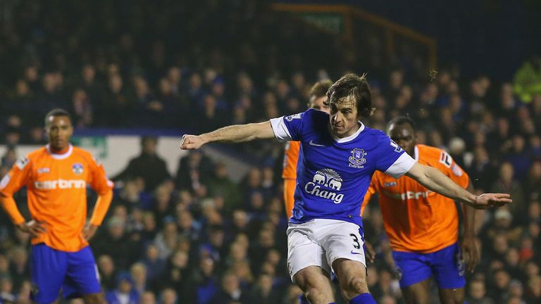 Leighton Baines: Feels Everton can go all the way in the FA Cup this season