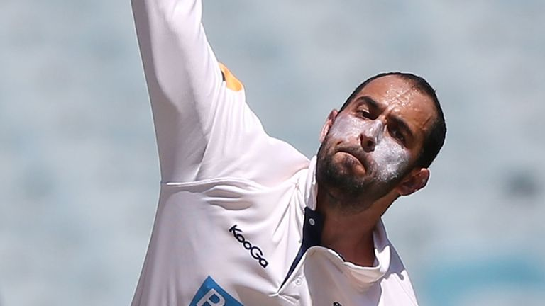 Fawad Ahmed: Tipped for Ashes call-up