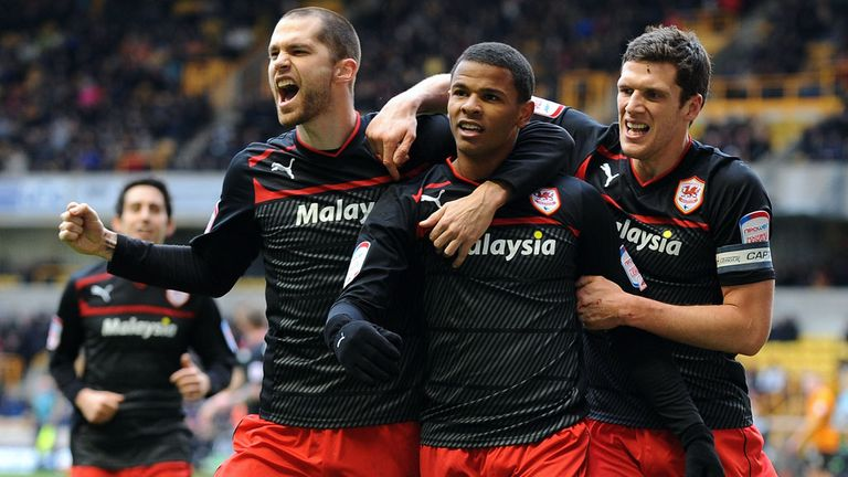 Cardiff: On course to reach the Premier League