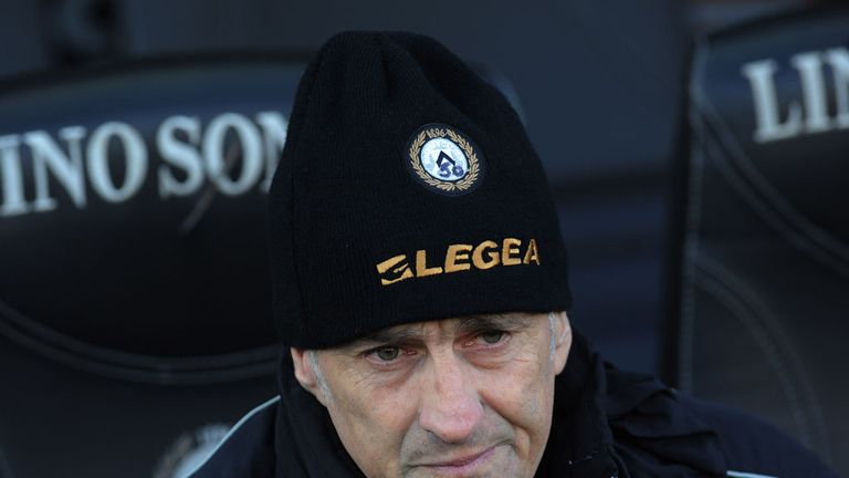 Francesco Guidolin: Has led Udinese to three consecutive top three finishes