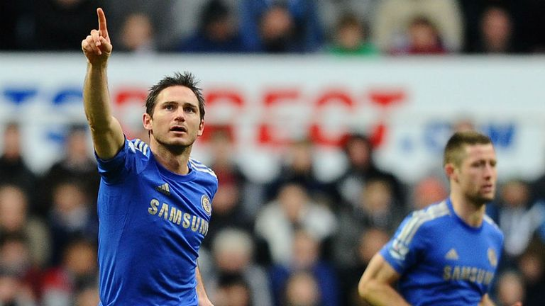 Frank Lampard: Backed by Benitez to play at the World Cup