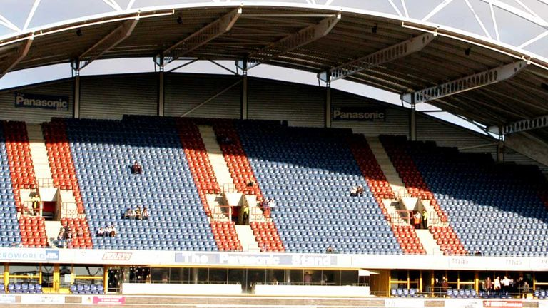 Galpharm Stadium: Huddersfield due to host Hull on Saturday 30 March