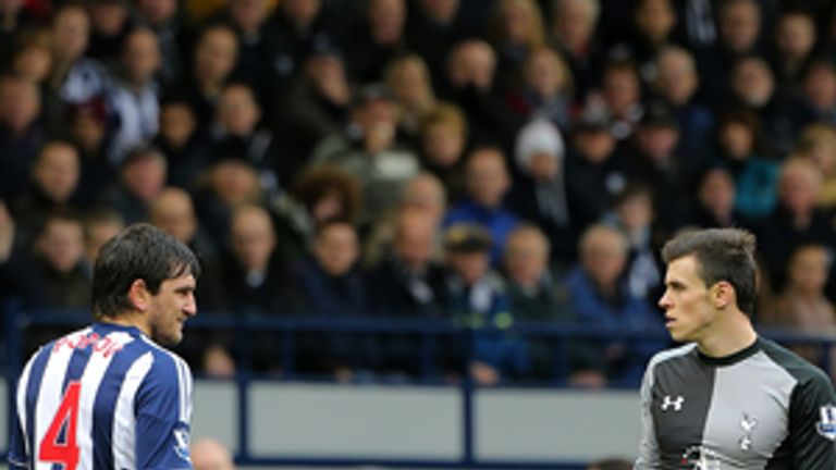 Goran Popov: Sent off for spitting during West Brom's defeat to Spurs last Sunday