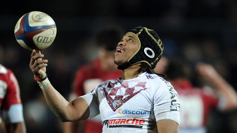 Huge win: Bordeaux-Begles scrum-half Heini Adams
