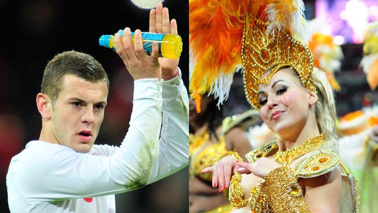 Jack Wilshere and Brazil dancer: Assets