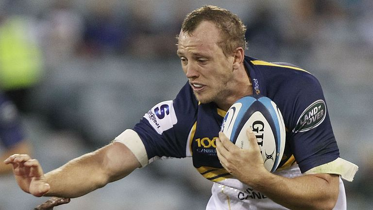 Jesse Mogg: Scored both tries for the Brumbies at Canberra Stadium