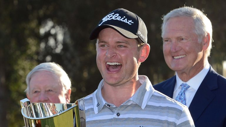 John Merrick: Thrilled to claim first PGA Tour victory in Los Angeles
