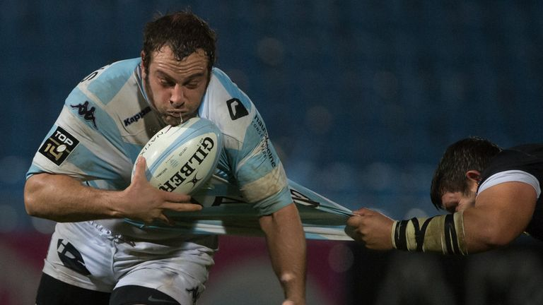 Juan Pablo Orlandi: has agreed to leave Racing Metro for Bath