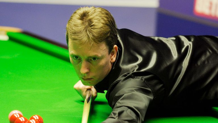 Ken Doherty: upset John Higgins in Newport on Tuesday