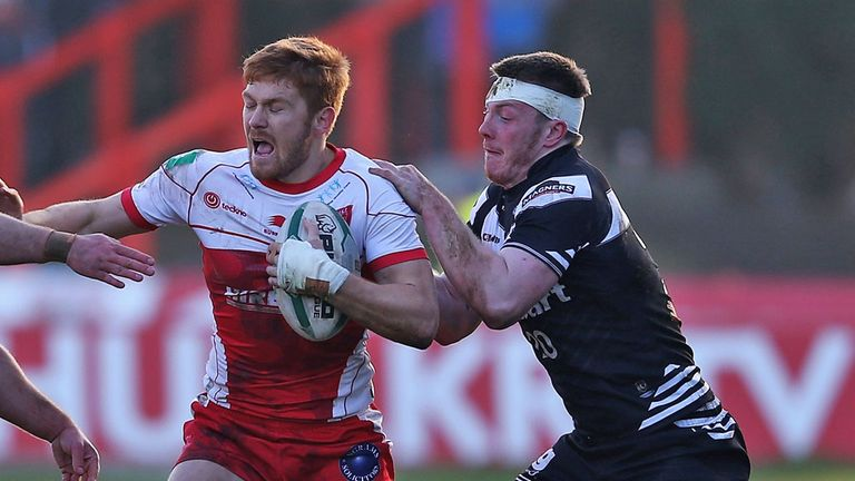 Kris Welham (left): keen to avoid a slip-up when Hull KR travel to Salford on Sunday