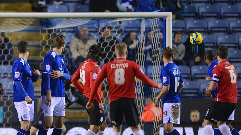 Adam Clayton: Opened the scoring with this free kick