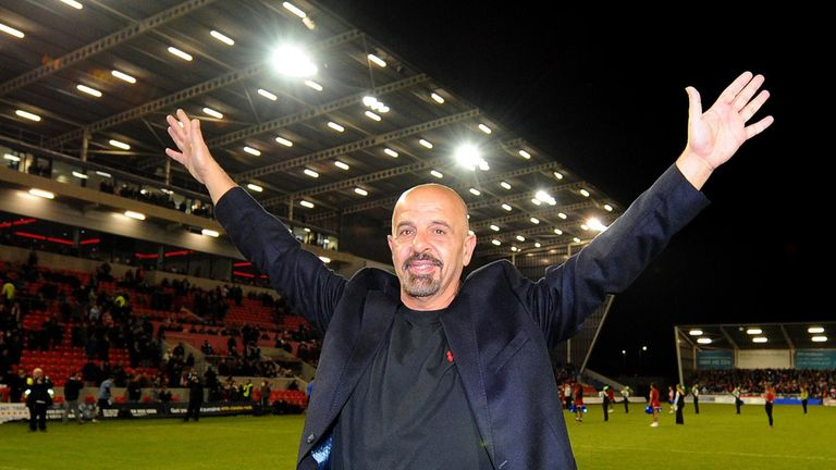 Koukash: looking to take Salford back to the top
